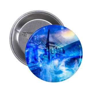 Castle of Glass Pinback Button