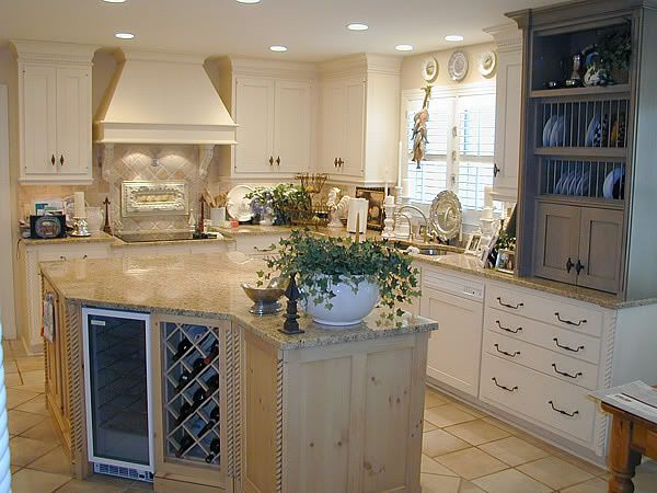 Captivating Kitchen Remodeling · Curved Island