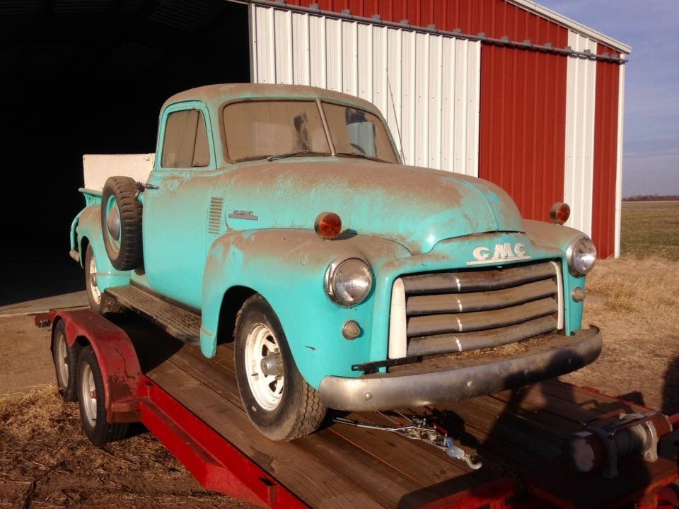 1952 Gmc 1 2 Ton Barn Find This Truck Has Been In My Family Since New