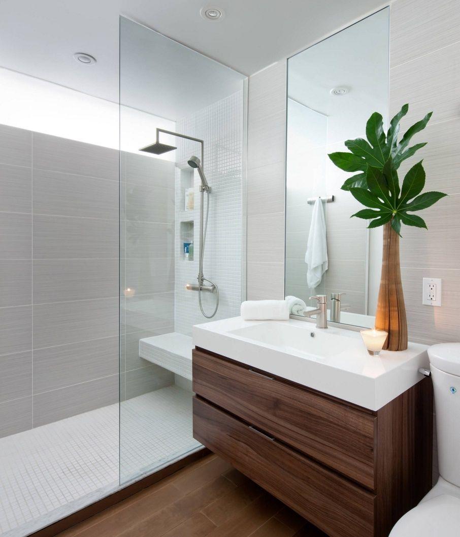 The Luxury Look Of High End Bathroom Vanities Modern Small Bathrooms Small Bathroom Renovation Modern Bathroom Design