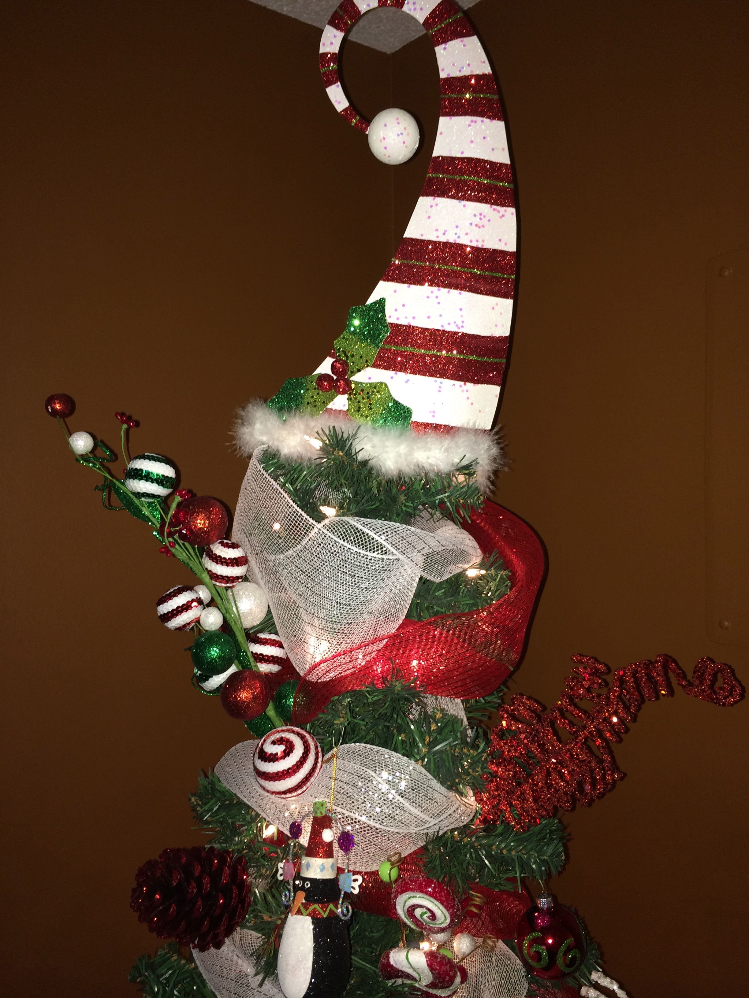 Christmas Tree Whimsical Tree Topper From Pier 1 Christmas Tree Toppers Diy Christmas Tree Topper Whimsical Christmas Trees