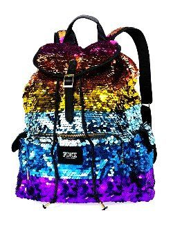 Colorful Sequin Backpacks for Girls - Glitter Sequin Backpacks for ...