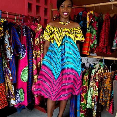 {title} (avec images)   Robe pagne ivoirien, Mode africaine, Robe