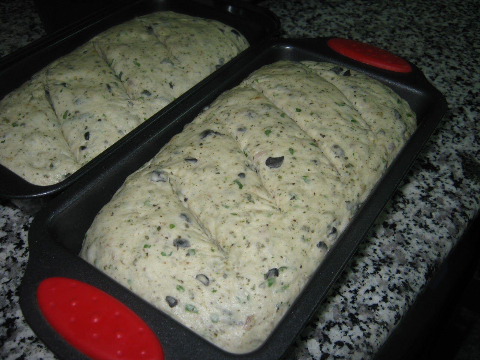 خبز الزيتون والاعشاب Food Bread