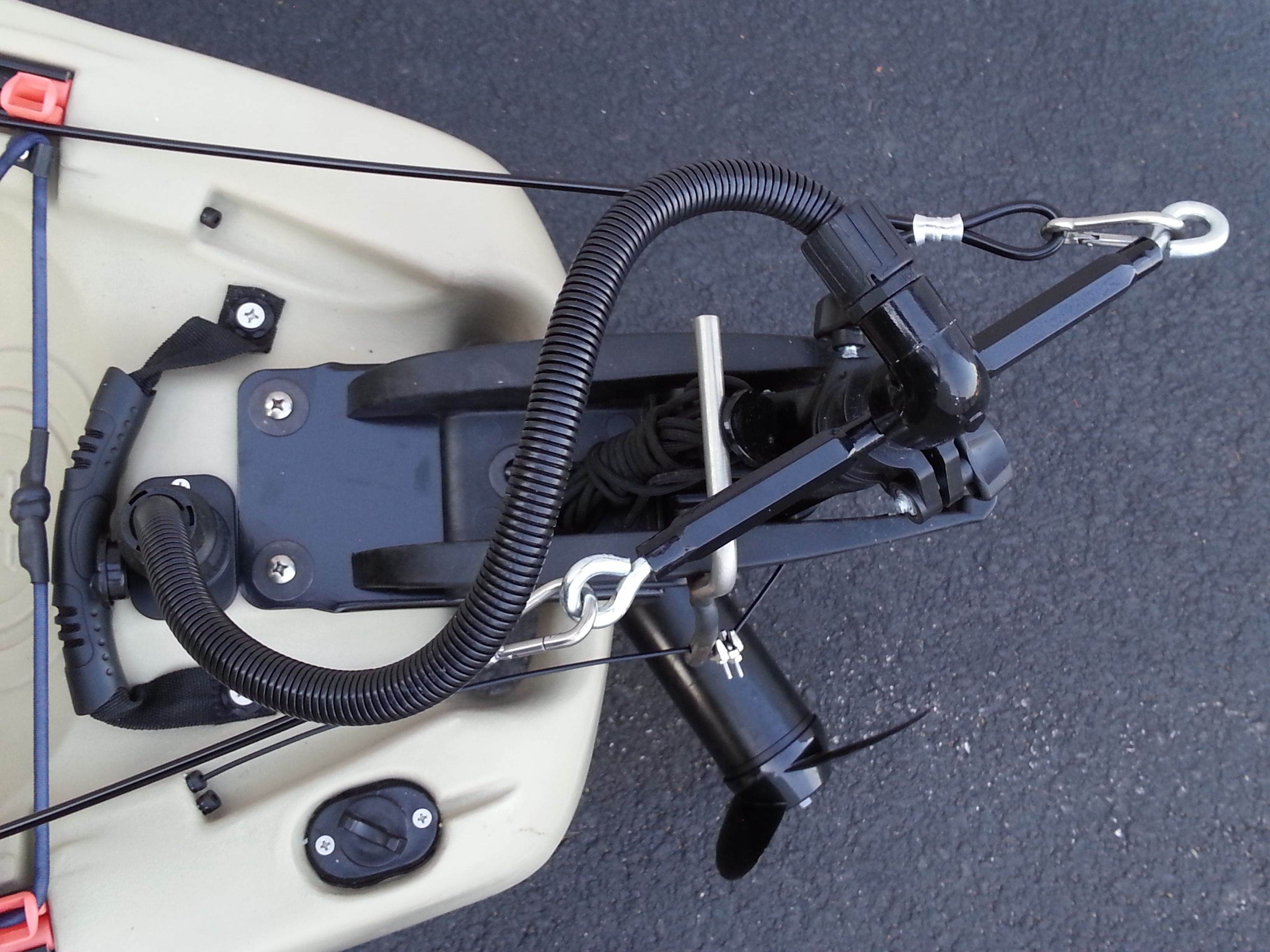 Angler Boat Throttle Control : G kayak fishing