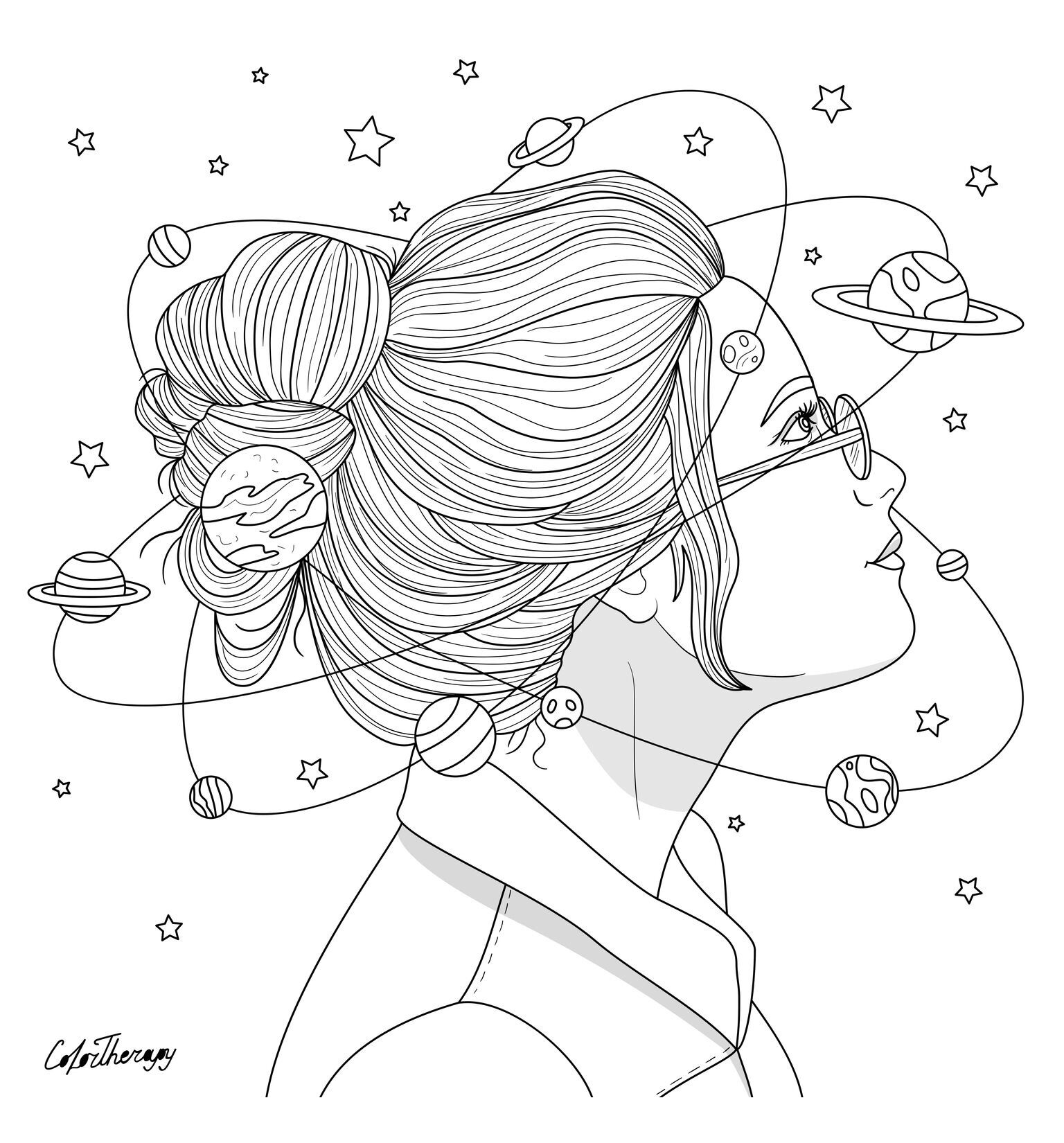 Coloring pages for adults app ~ Pin by Color Therapy App on Gift Of The Day #GOTD | Color ...