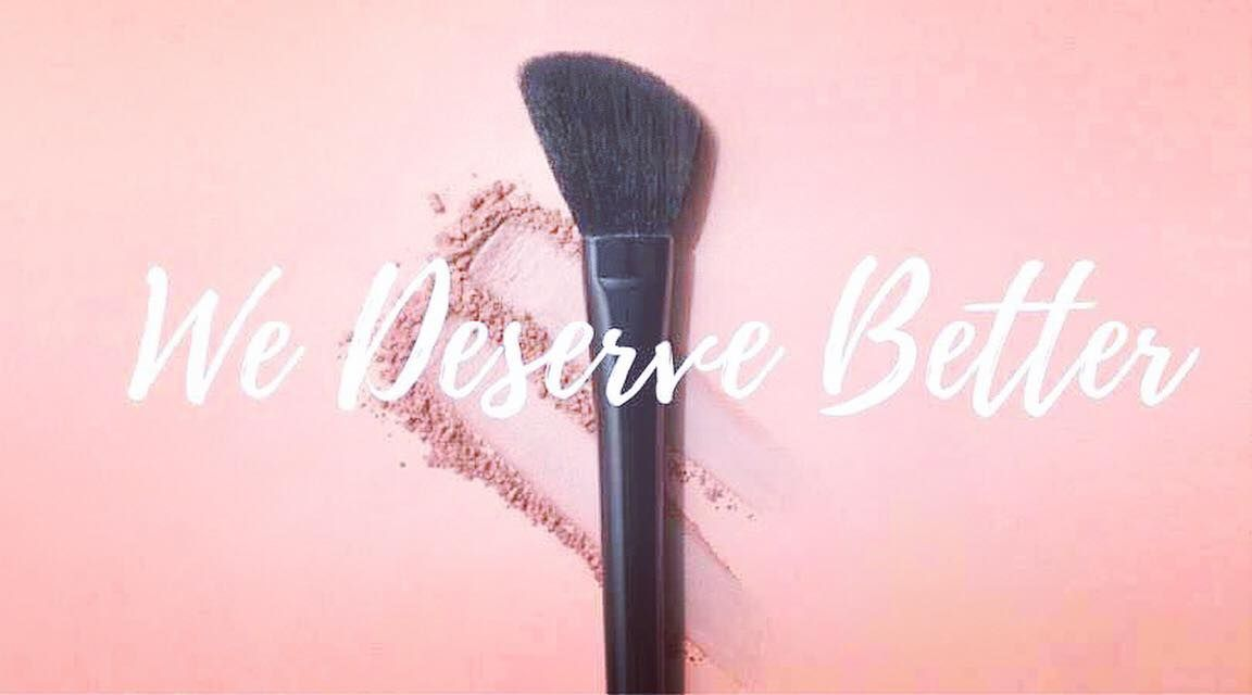 At beautycounter wedeservebetter is our mission