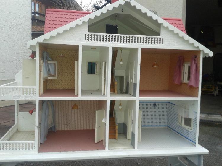puppenhaus lea pinterest diy puppenhaus kinderzimmer und landh user. Black Bedroom Furniture Sets. Home Design Ideas