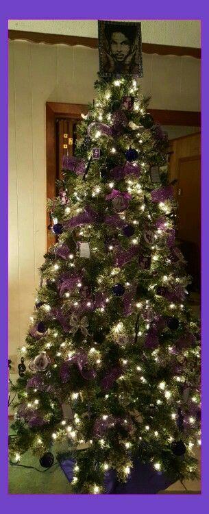 Prince Christmas Decorations.Prince Christmas Tree Purple Christmas Tree Doctor Who