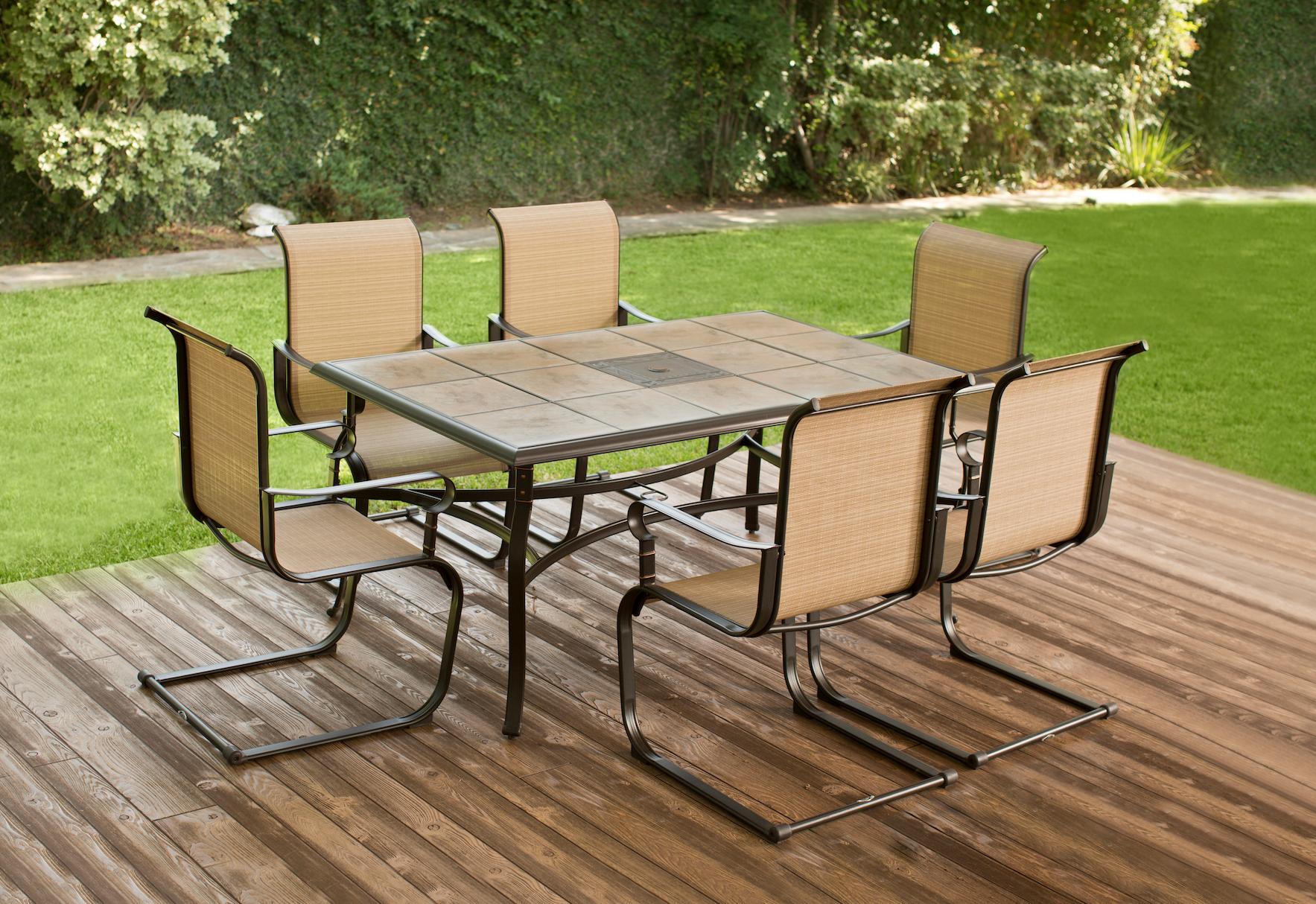 Renueva tu hogar con un maravilloso set de patio. Muebles para ...