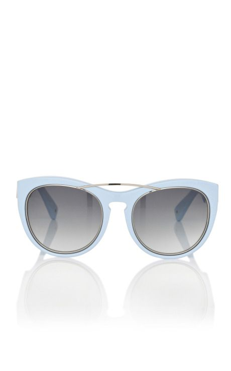 love these powdery-blue Phillip Lim sunnies!