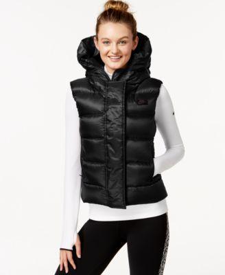 Nike Uptown 550 Hooded Down Vest - Coats - Women - Macy's
