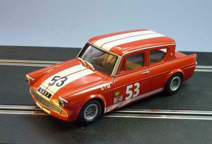 Ford Anglia 105e Saloon Racer Slot Cars Slot Cars Ford Anglia