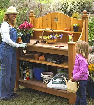 17 Best 1000 images about Potting benches on Pinterest