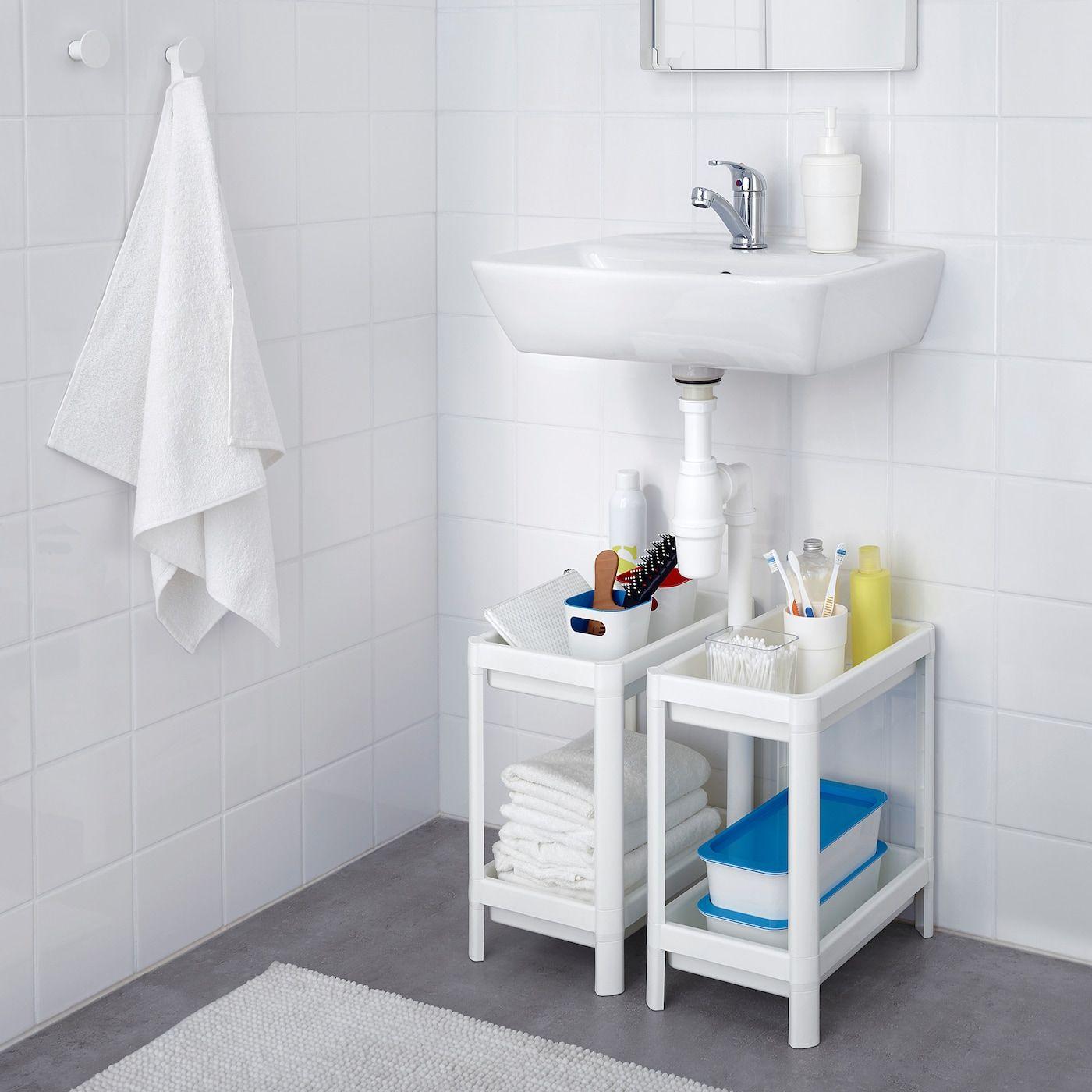 VESKEN white, Shelf unit, 36x23x40 cm IKEA in 2020