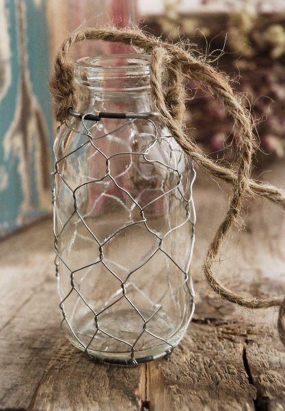 Hanging Bottle Vases 4
