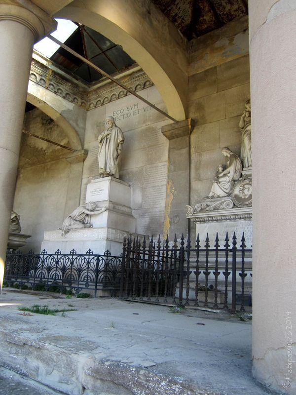 TRIESTE Sant'Anna Cemetery, The Monumental part