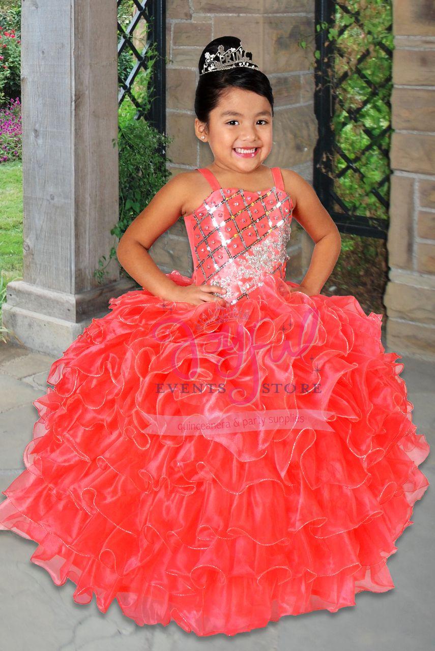 a8a01a226 vestidos de nina charra para presentacion de 3 anos FLOWER GIRL DRESS   FGD030RD