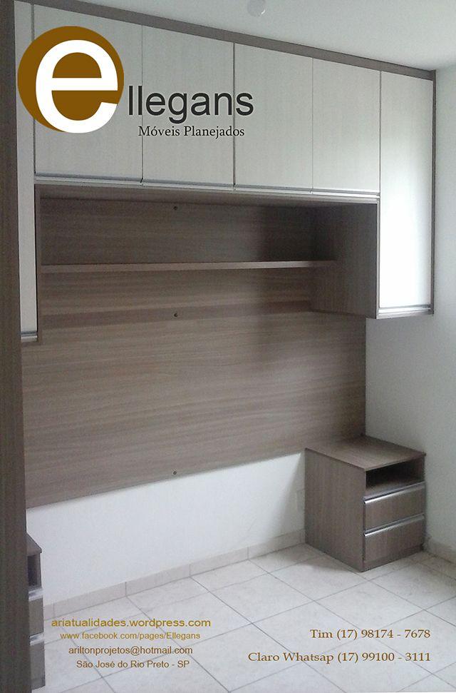 Closet guarda roupa planejado quarto pequeno - Armarios para dormitorios pequenos ...