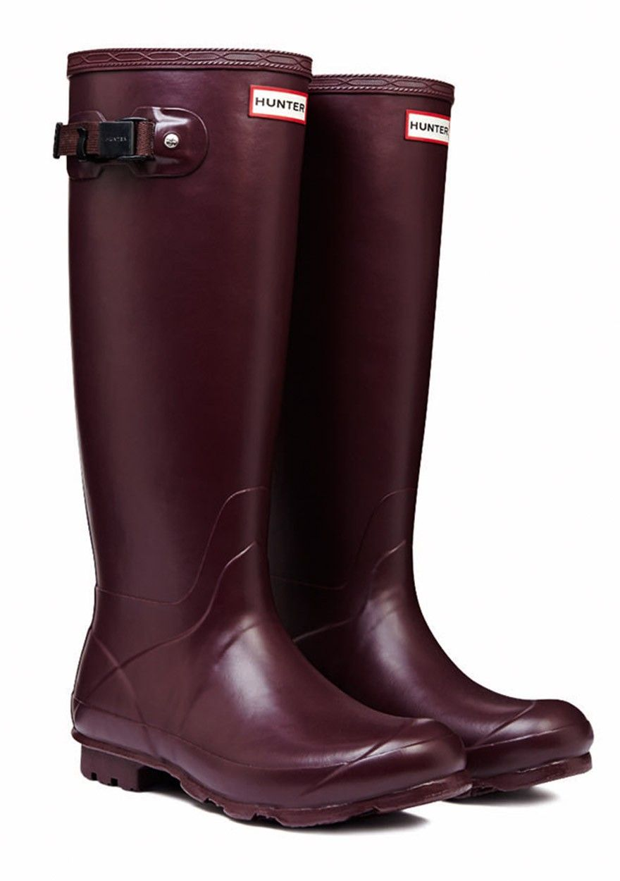 Hunter Norris Field Boot Neoprene Lined Burgundy - Best in the Country