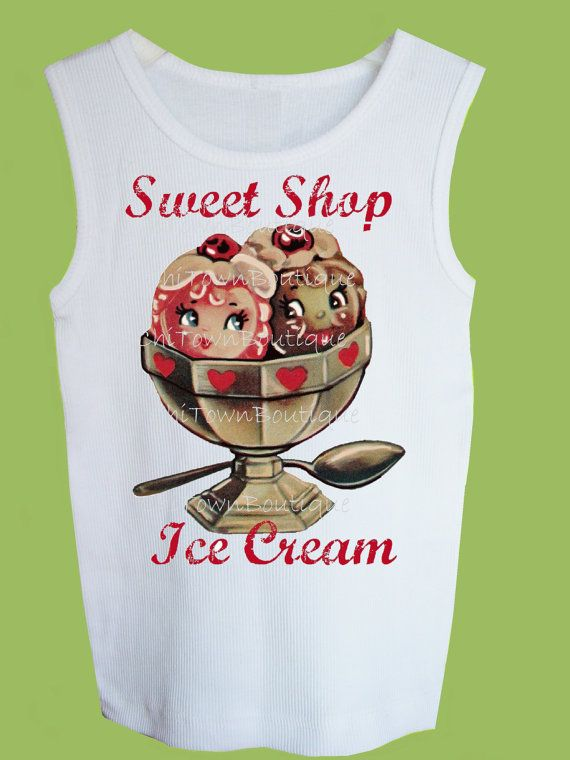 556ddf9048a59 Valentine Sweet Shop Ice Cream by by ChiTownBoutique on Etsy