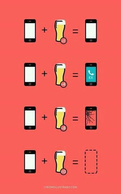 Drunk & phone