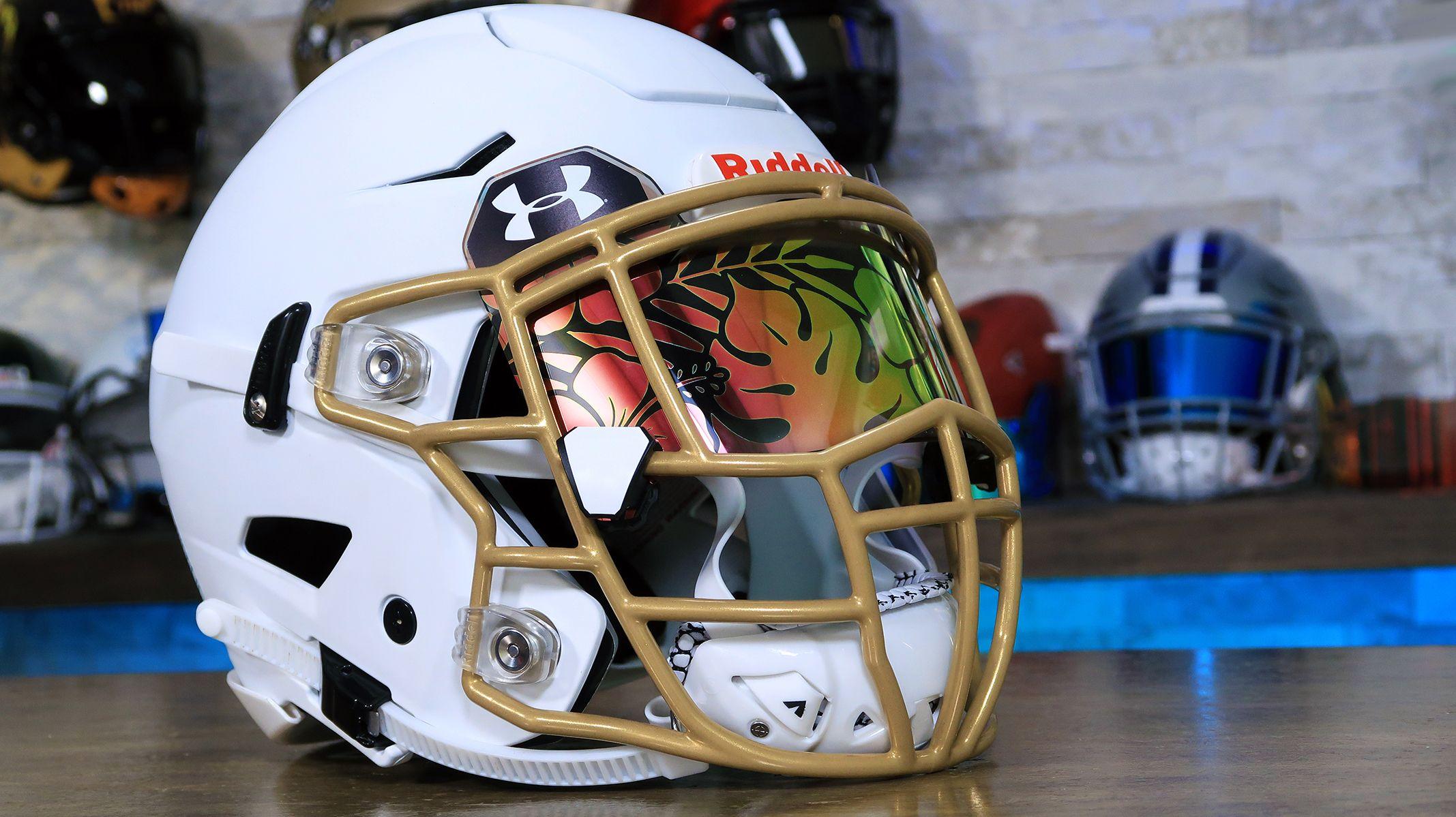 Custom football helmets image by green gridiron in 2020