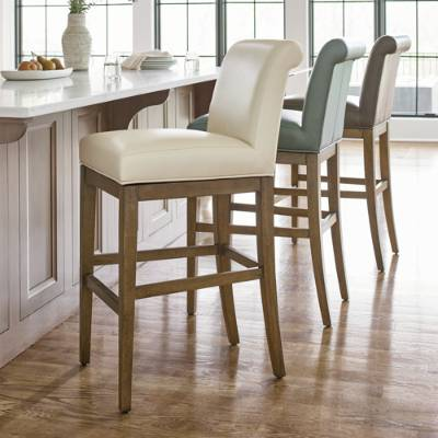 Penelope Lowback Swivel Bar Counter Stool Grandin Road Counter Stools Stools For Kitchen Island Leather Counter Stools