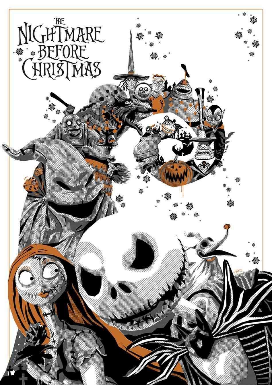 nightmare before christmas graveyard silhouette | LaDarks\' Cryptic ...