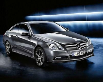 Y del mundo de las sombras sale... Mercedes-Benz E Coupé 350. ¡Comenzamos la experiencia Dream Cars!