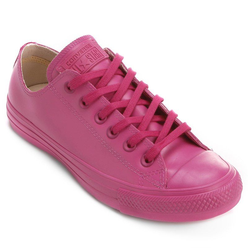 263a4967b8 Tênis Converse All Star Ct As Rubber Ox - Pink