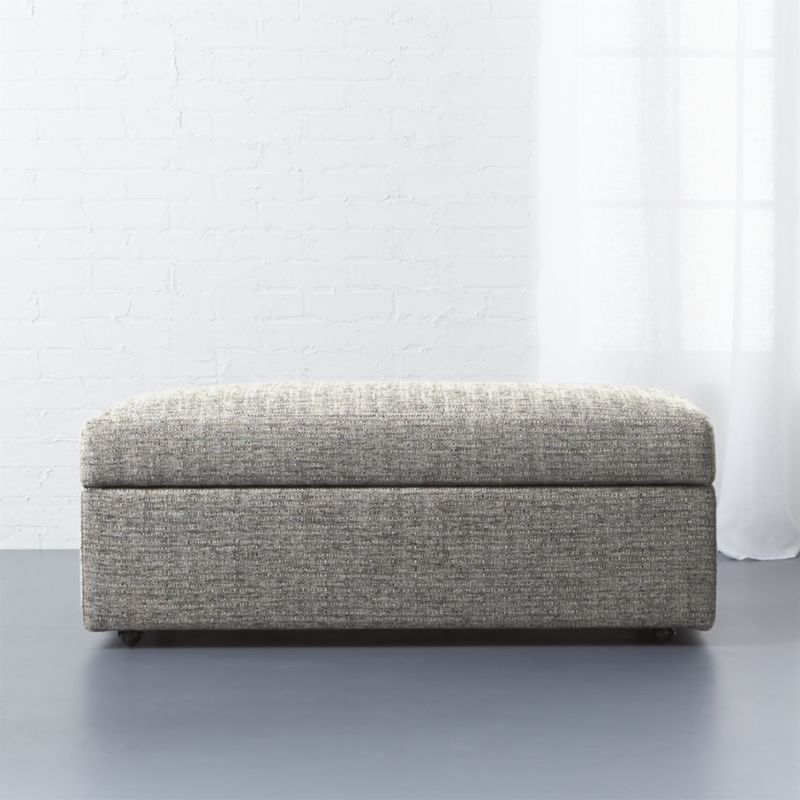 Shop Movie Storage Ottoman. The Perfect Trailer To Our Movie Sleeper Sofa.  Tailored To