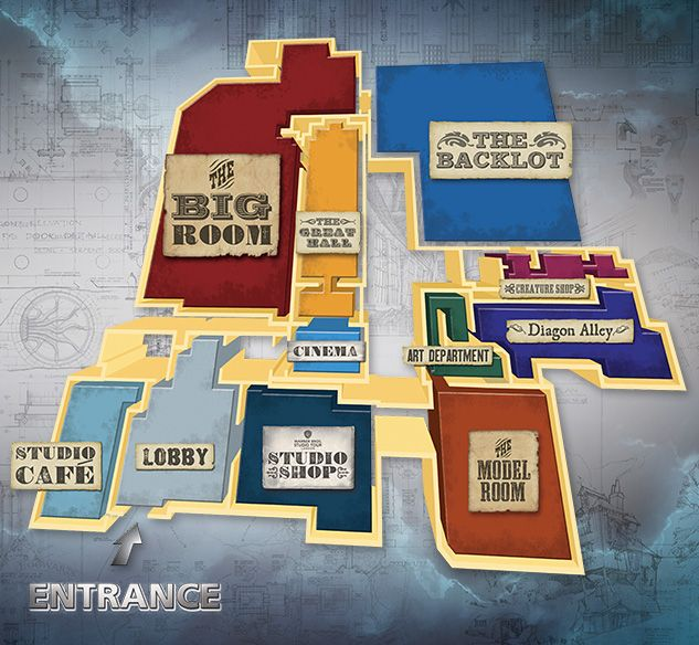 Wb studio tour the map londres pinterest wb studio tour the map gumiabroncs Image collections