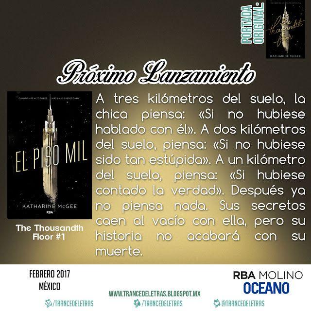 El Piso Mil (The Thousandth Floor #1) de Katharine McGee