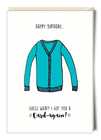 An Awesome Birthday Card From Soula Zavacopoulos Birthday Cards