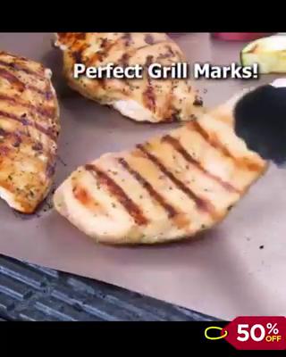 Premium BBQ Grill Mat (Reusable) Cool Gadgets