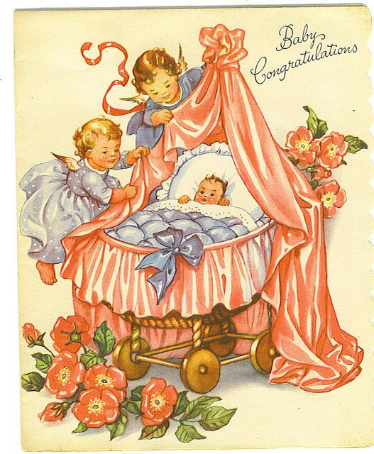 Baby Congratulations card by Tommer G, via Flickr