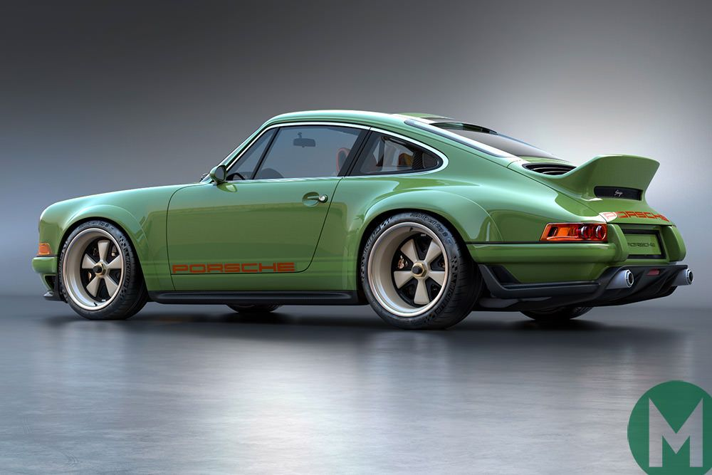 The first images of the Porsche 964 restoration collaboration between Williams and Singer have been revealed.