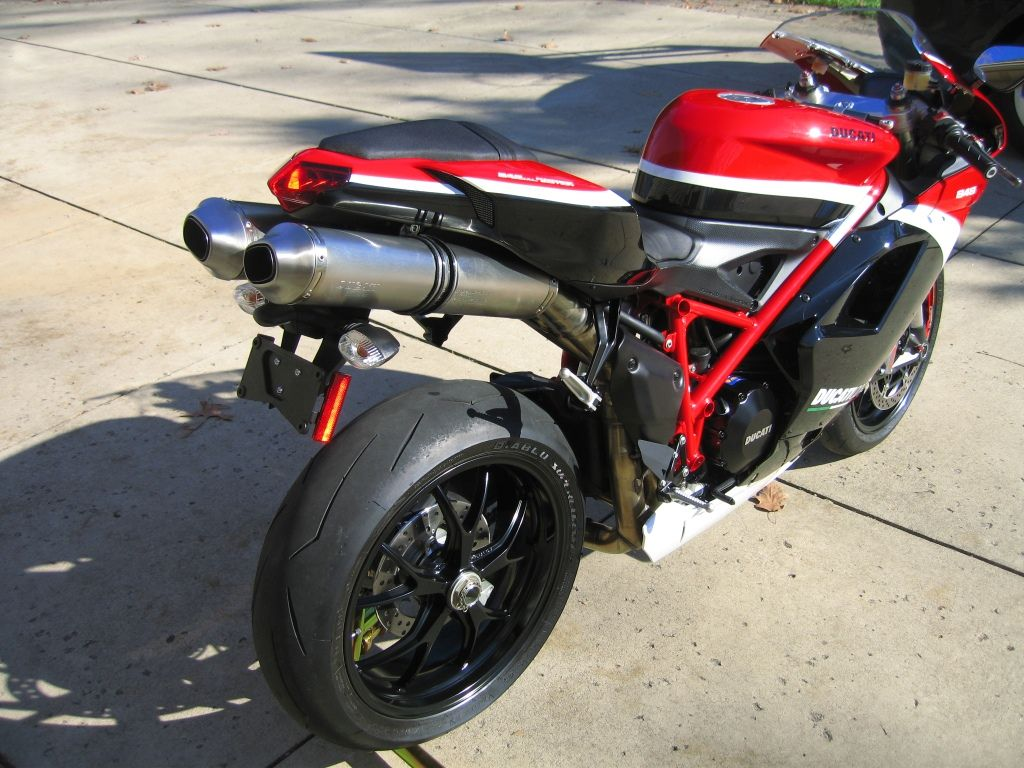 2012 Ducati 848 EVO Corse 58 Miles. Crash Damage - http://get.sm ...
