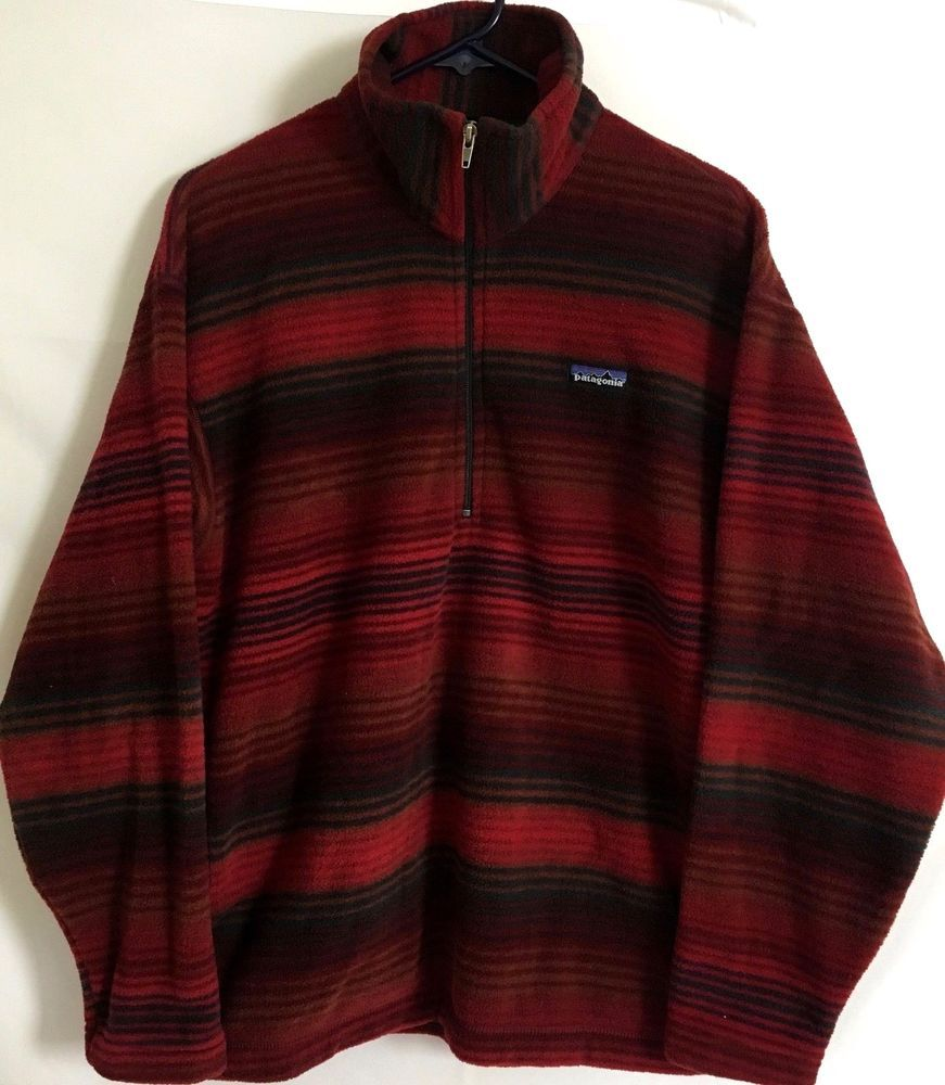 Vintage Patagonia Men S Size M Usa Pullover Soft Fleece Pullover Jacket C78 Patagonia Fleecejacket Vintage Patagonia Fleece Jacket Pullover Jacket
