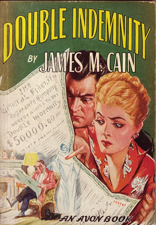 Image result for double indemnity james m. cain novel