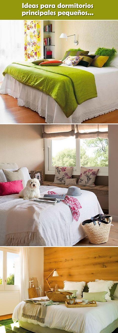 Ideas para dormitorios principales peque os dise o de for Sillones para apartamentos pequenos