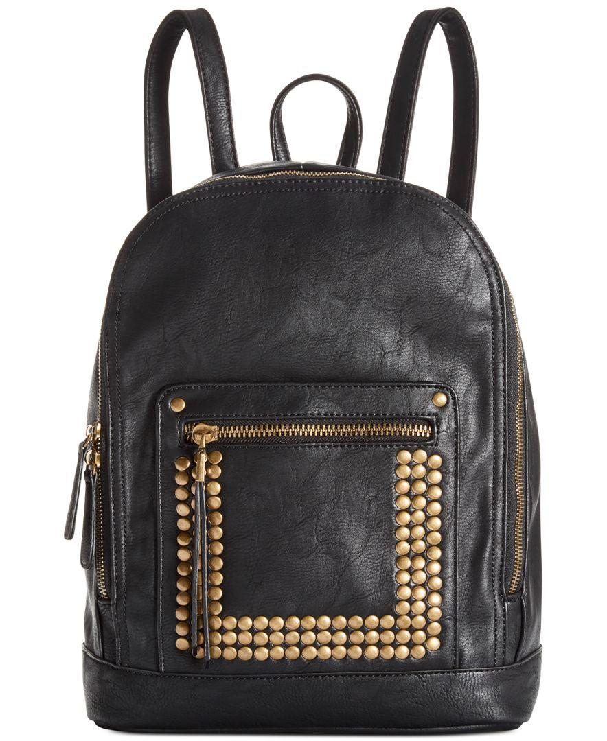 30cb3afa62 Big Buddha Becky Studded Backpack