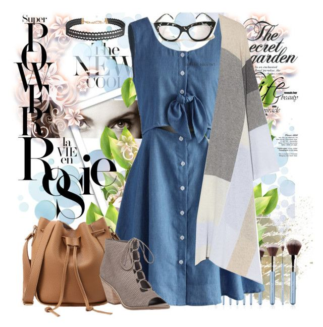 """""""The Secret Garden"""" by fashion-holy ❤ liked on Polyvore featuring Chicwish, Whiteley, Madeleine Thompson, Eileen Fisher and Humble Chic"""