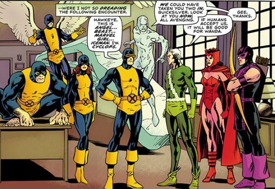 X Men 05 And Cap S Kooky Quartet X Men Avengers Book Of Life