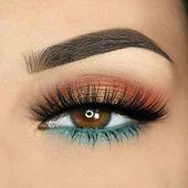 Impresionantes ideas de maquillaje de ojos que deberías probar #eyemakeup #makeup #eye …