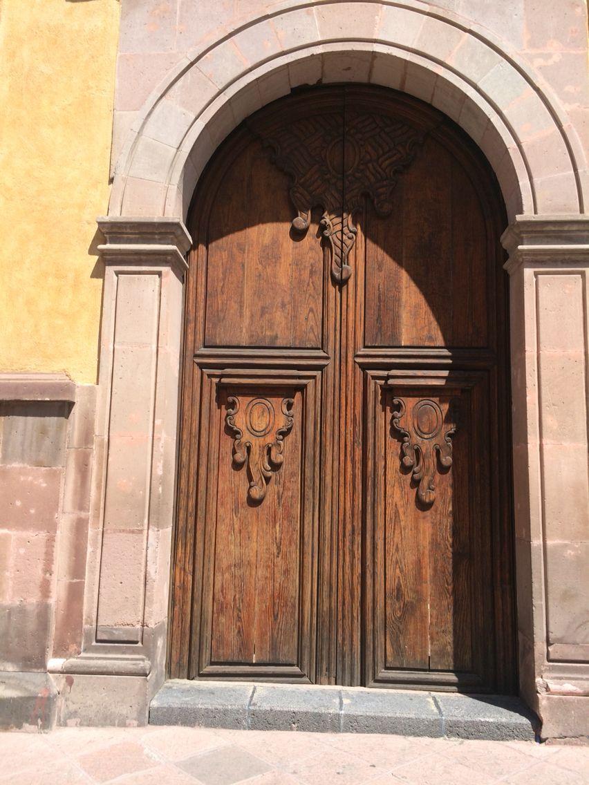 Spanish influences in Queretaro Mexico