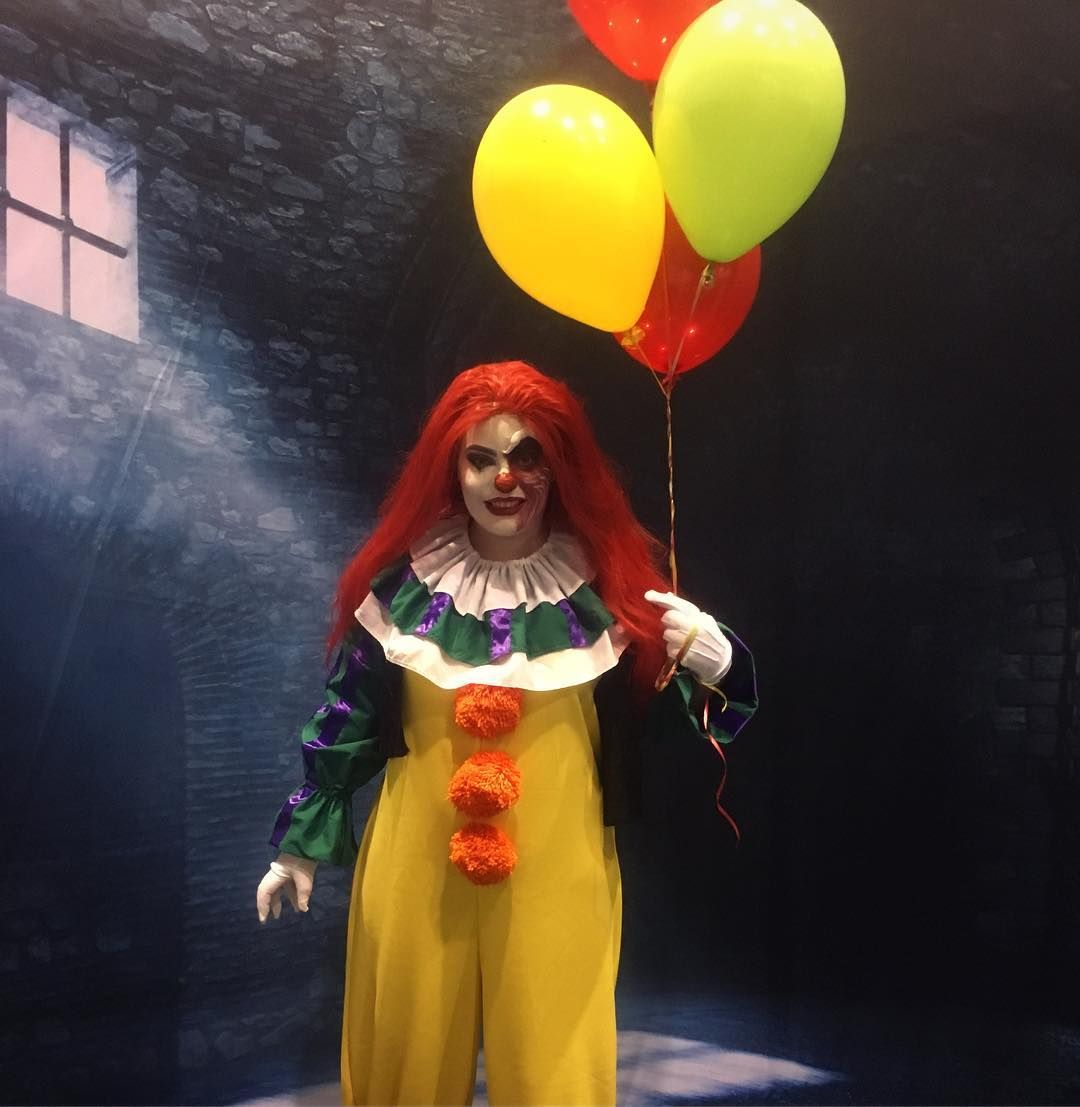 diy pennywise halloween costume idea