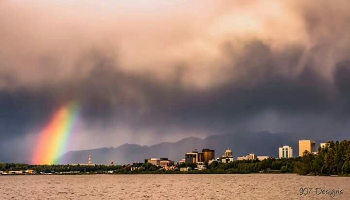 Big Storms Bring Big Treasures And Really Cool Skies In Anchorage Today What Better Place For A Front Row Seat Than Earthquake Park Photos Photo Earth