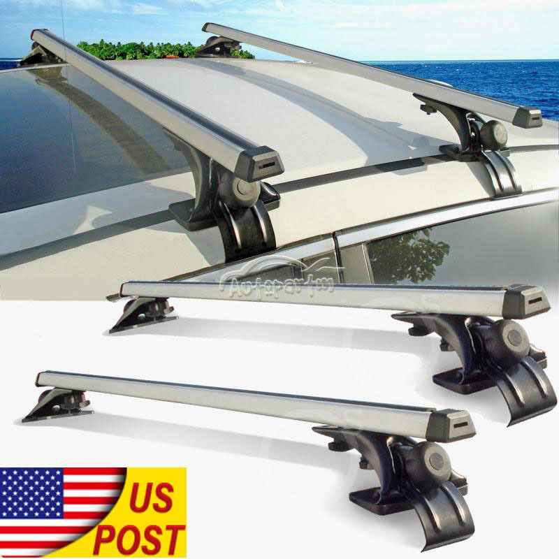Genial 2Pcs 47inch Car Top Luggage Cross Bars Roof Rack Ski Carrier Fit Toyota  Nissan